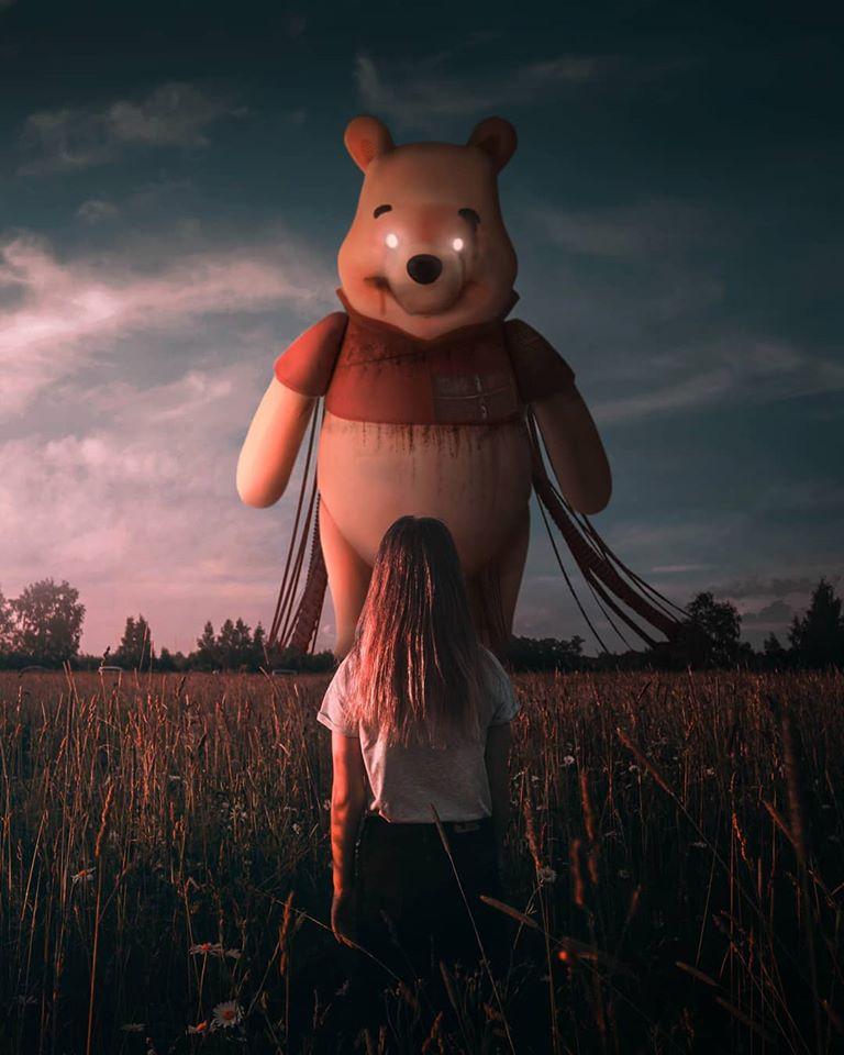 photo manipulation pooh