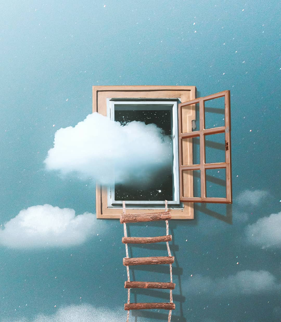 photo manipulation window by ronald ong
