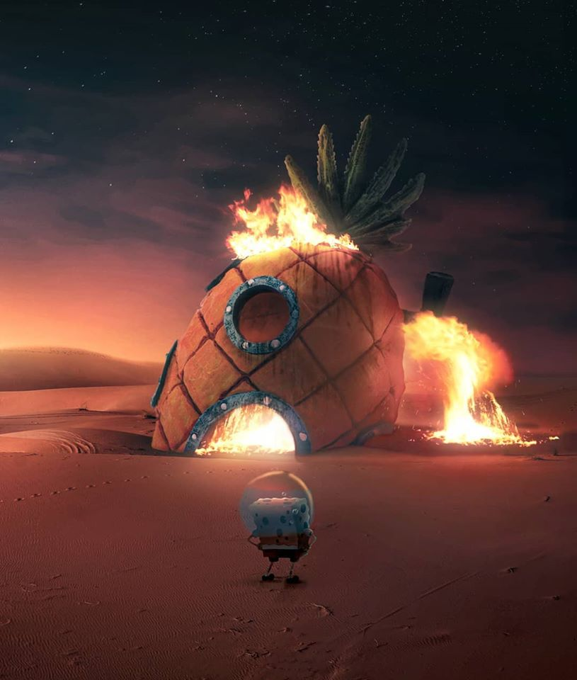photo manipulation pineapple