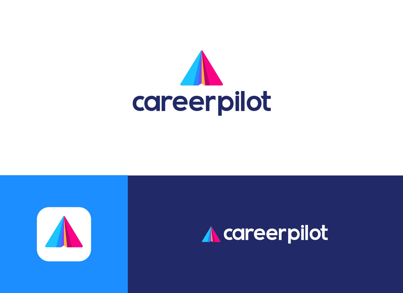 corporate logo design by andrea pinter