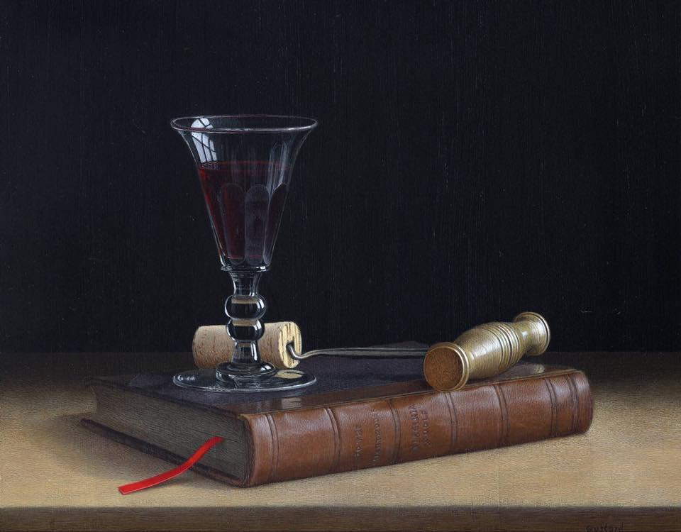 acrylic still life painting book hammer by tim gustard