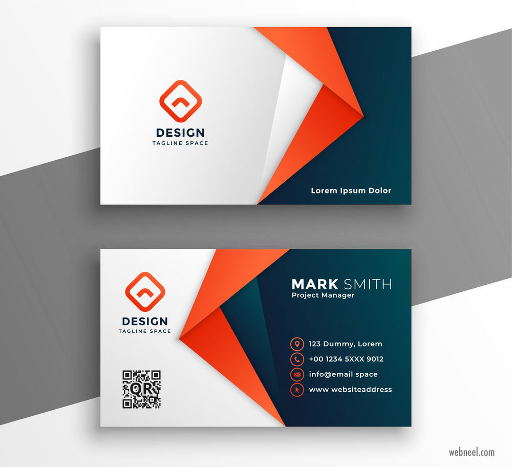 business card design idea
