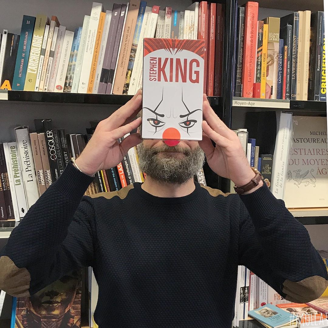 book face combines merge photography idea stephen king by librairie mollat