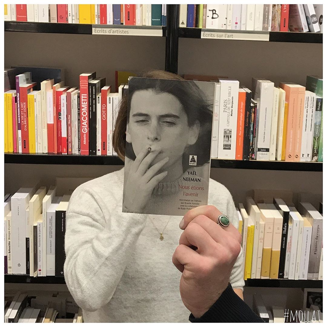 book face combines merge photography idea yael neeman by librairie mollat