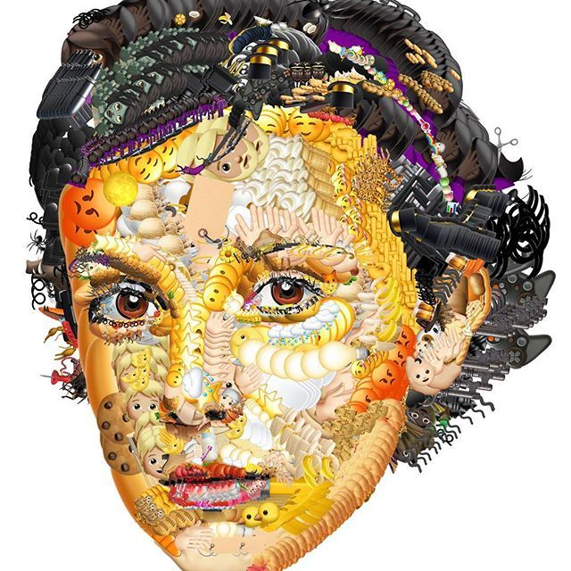photo manipulation face emoji by yung jake