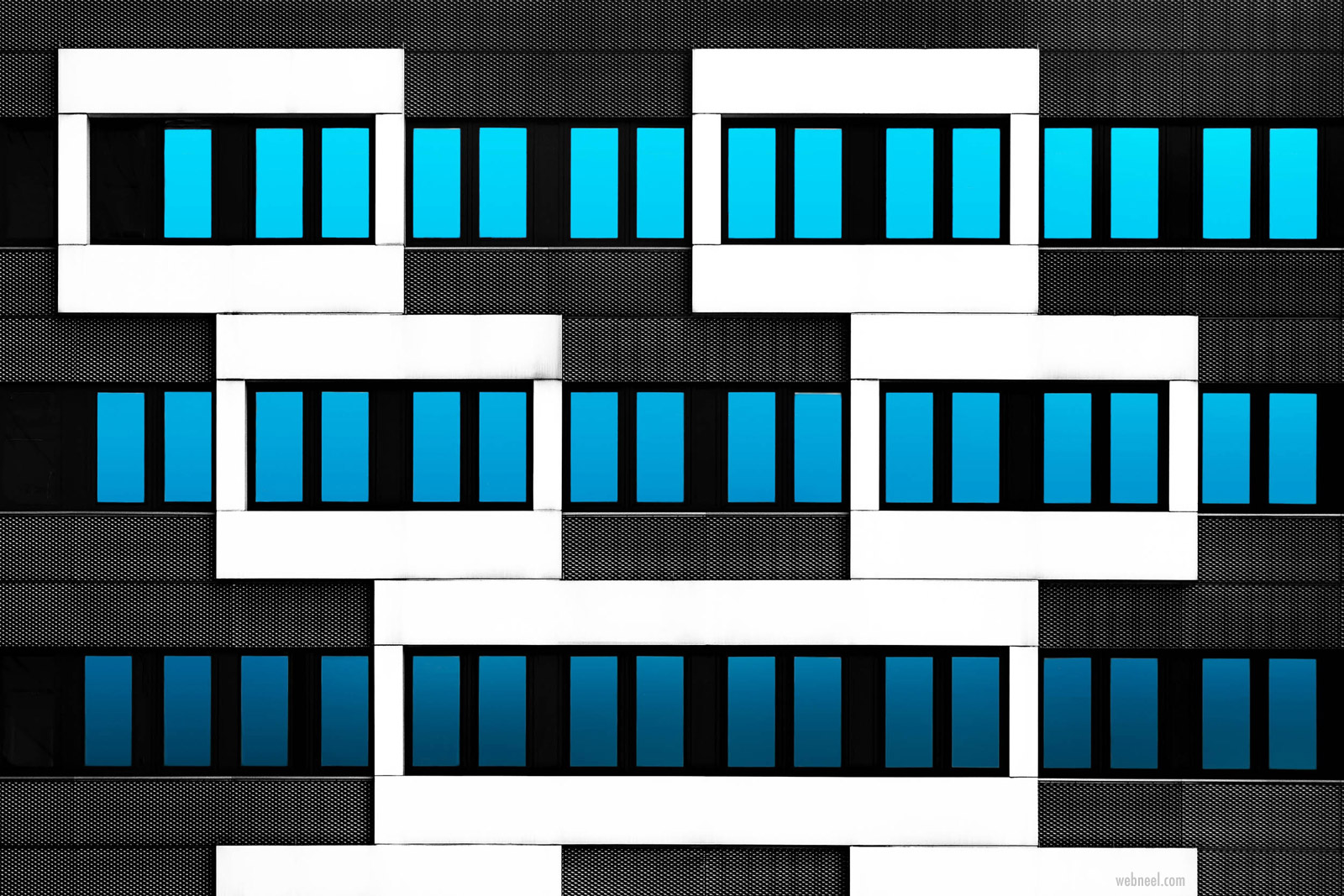 abstract photography building by hans wolfgang hawerkamp