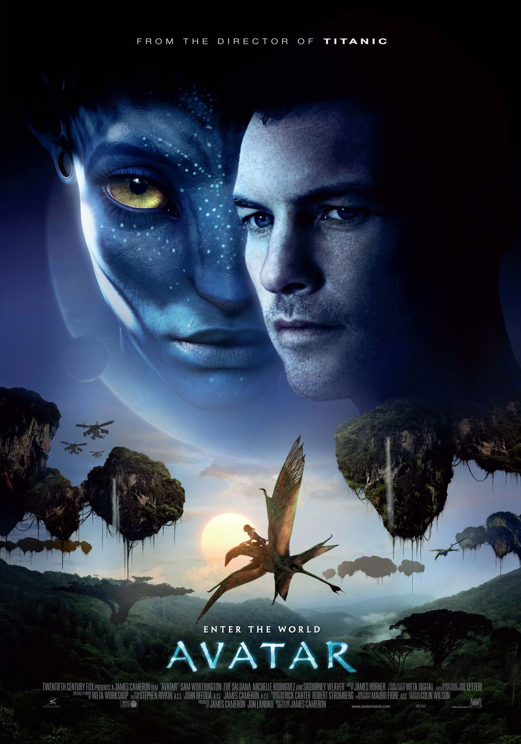 avatar movie poster design