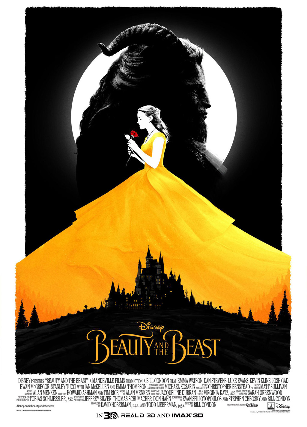 iconography movie poster beauty and the beast