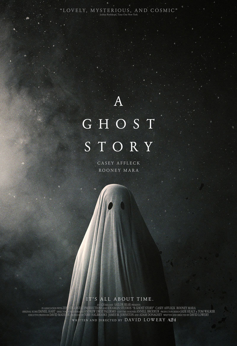 iconography movie poster a ghost story