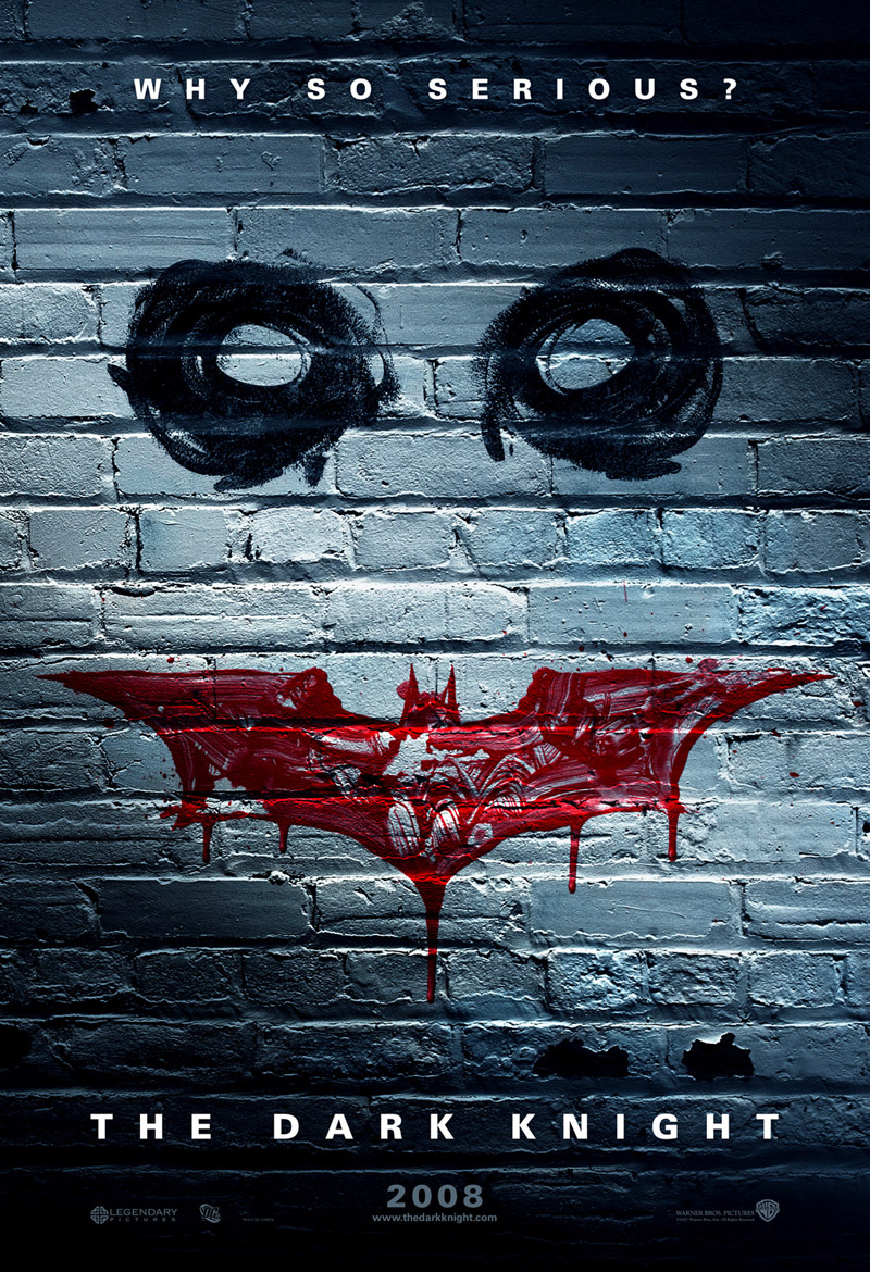 iconography movie posters dark knight