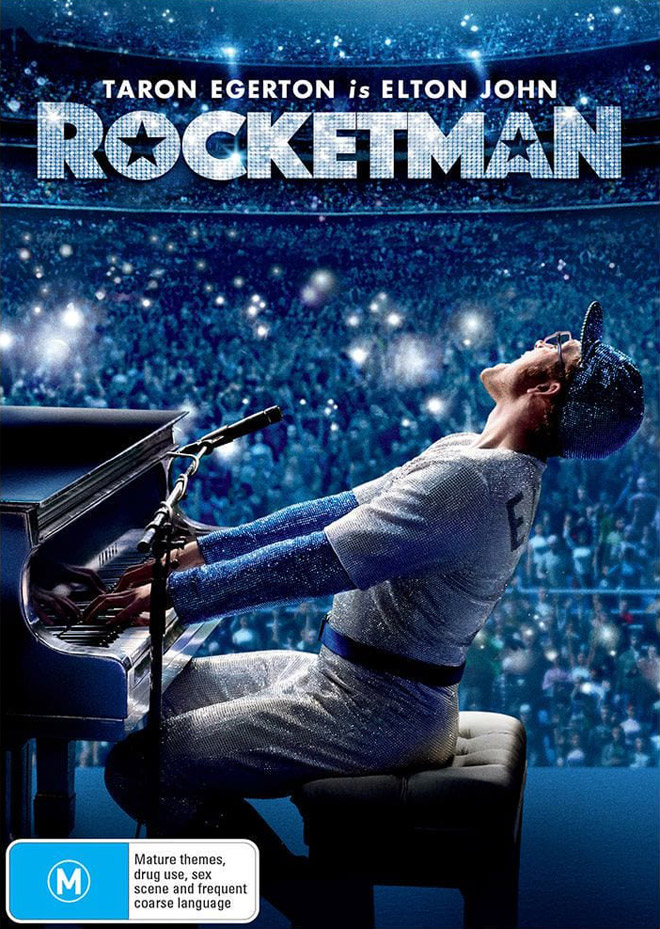 rocketman movie poster design