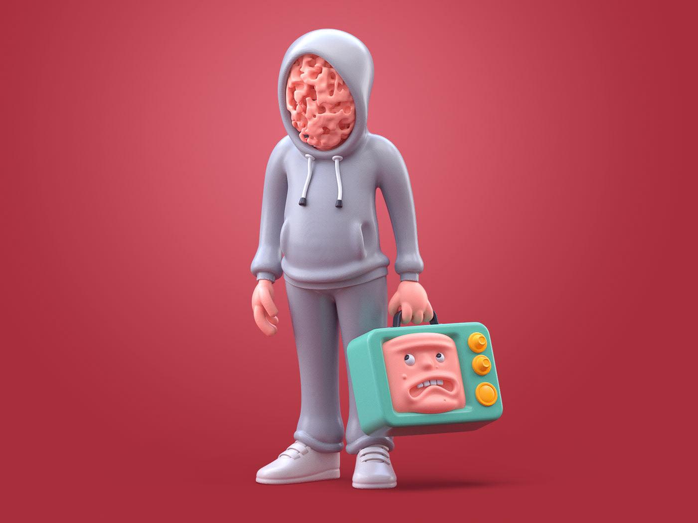 3d model bake face by zhivko terziivanov