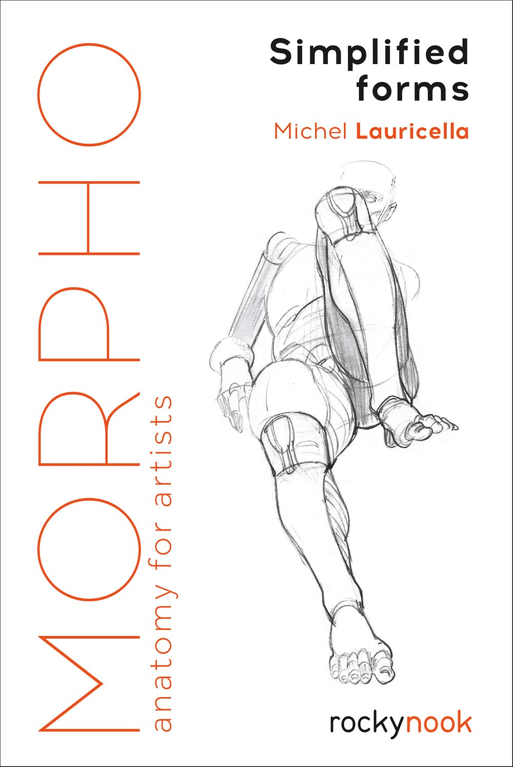 art book morpho simplified forms anatomy for artists