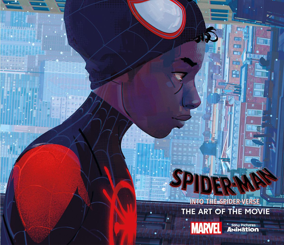 art book spiderman into the spider verse the art of