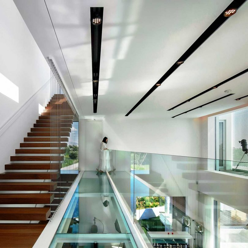 award winning design the linear house house by christos