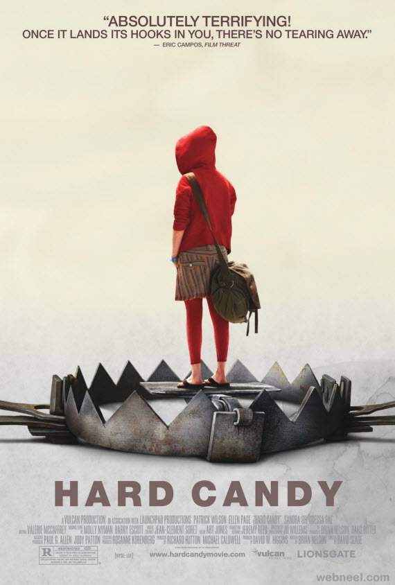 hard candy creative movie poster design