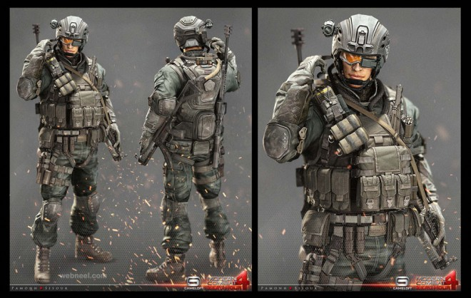 3dsmax 3d game character design
