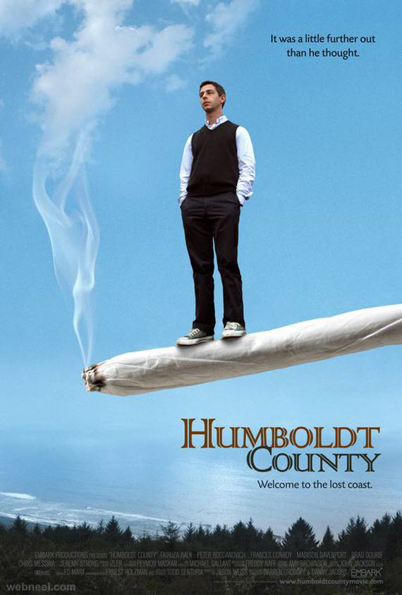 humboldt county creative movie poster design