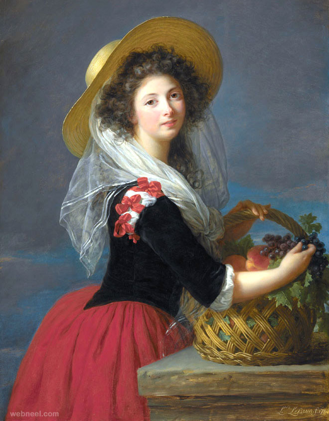 elisabeth vigee lebrun old paintings