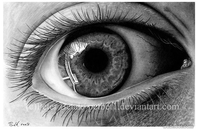 best eye drawing