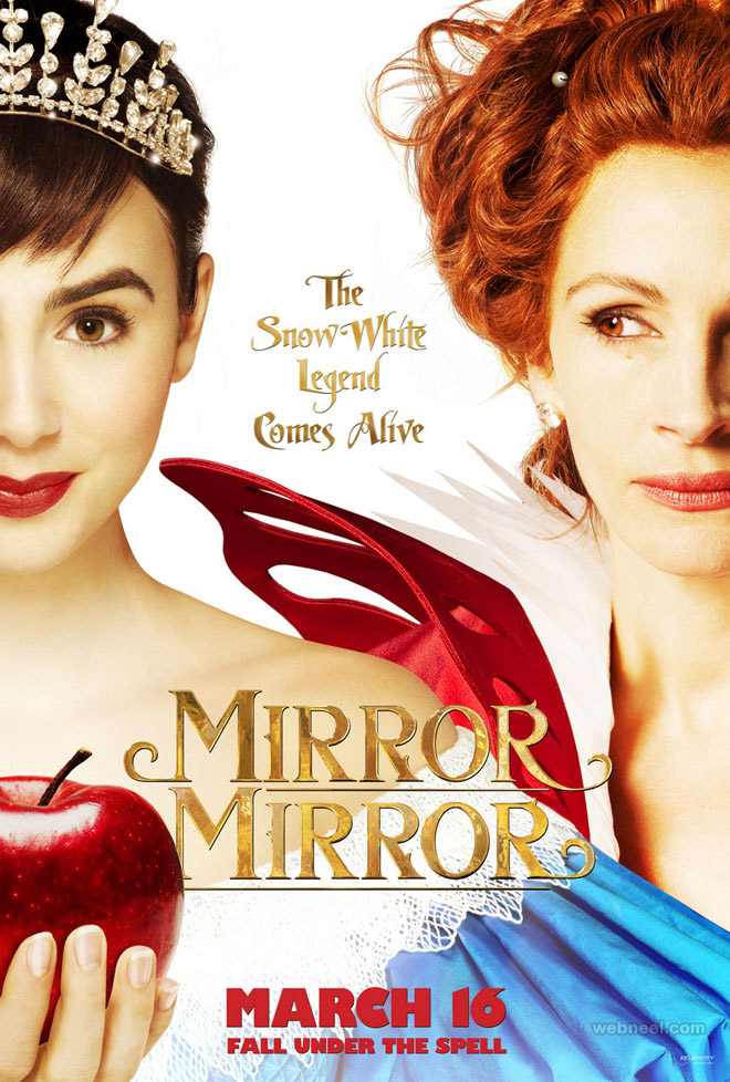 mirror creative movie poster design