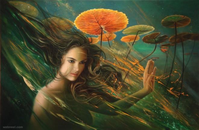 nimue lady of the lake by raipun