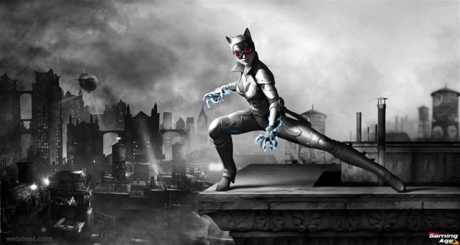 batman 3d game character design