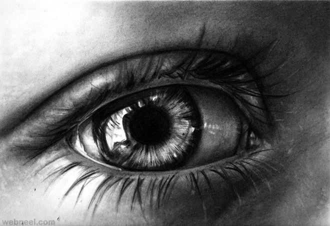 best eye art work