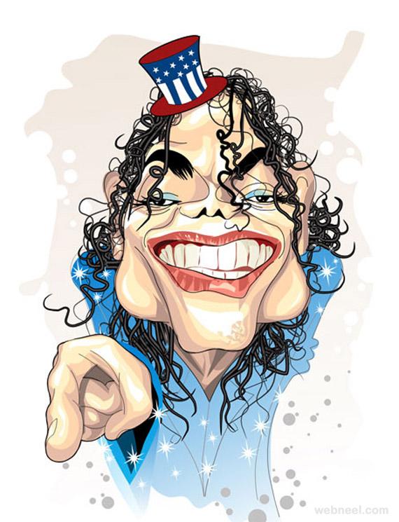 celebrity caricatures