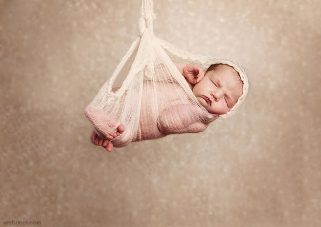 sleeping beauty baby photography