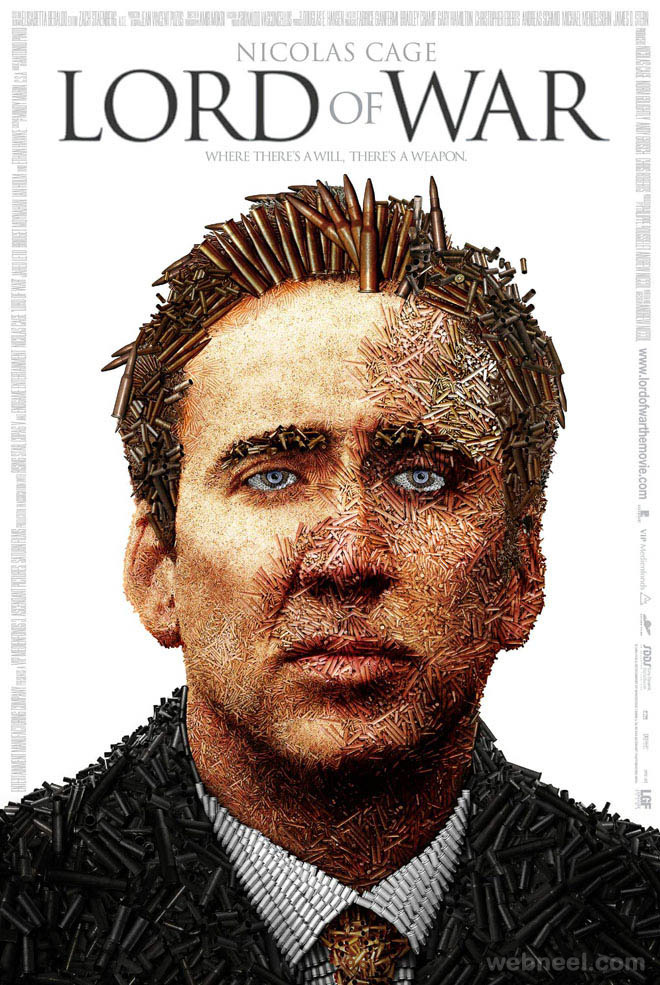 lord of war creative movie poster design