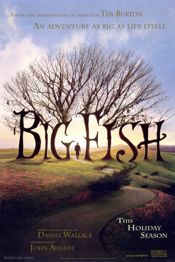 big fish creative movie poster design