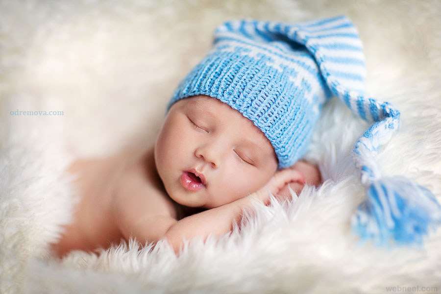 sleepy baby photography