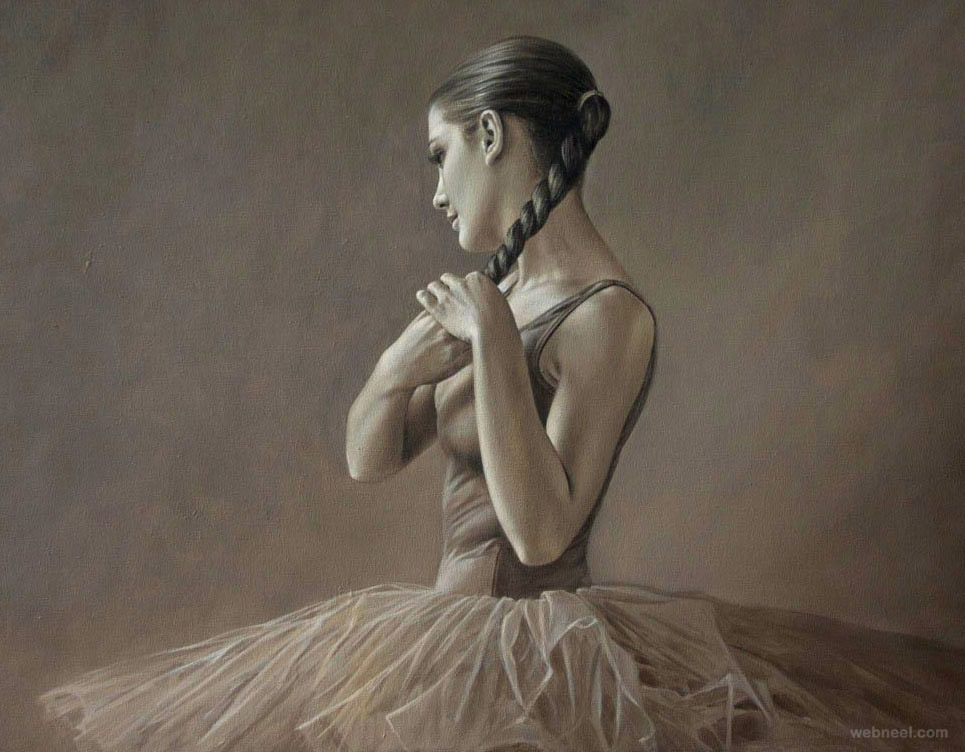 oil painting by sergio martinez cifuentes