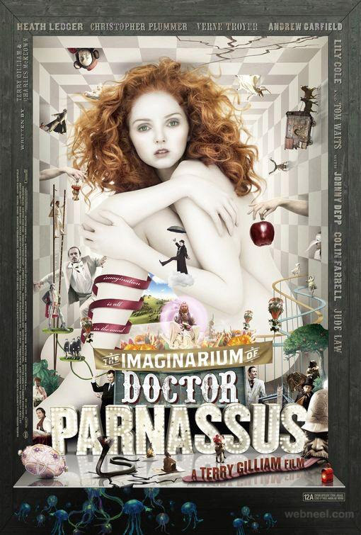 doctor parnassus creative movie poster design