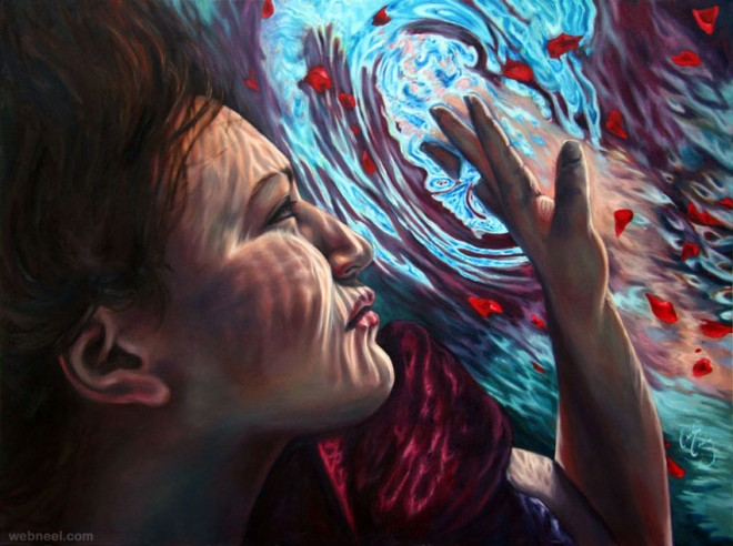 under water paintings by erika craig 3