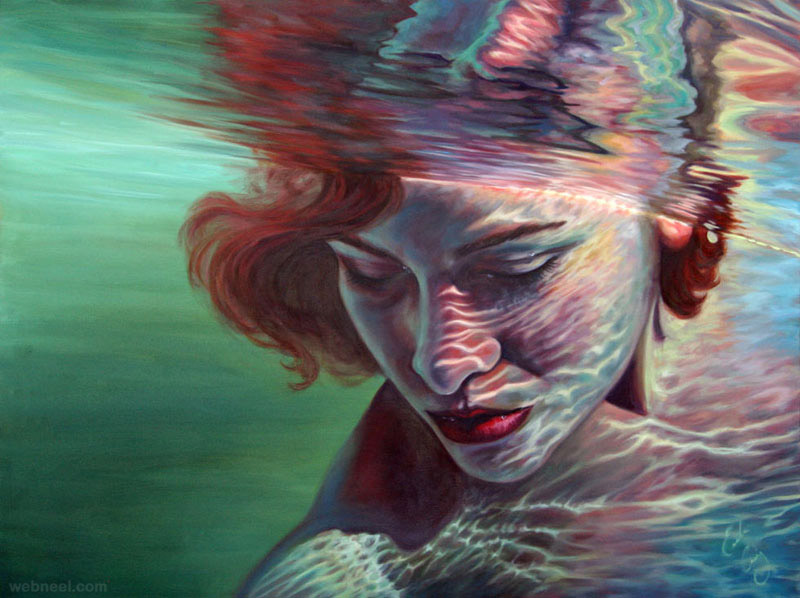 under water paintings by erika craig 4