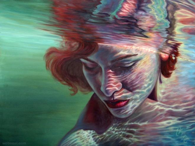 under water paintings by erika craig 4