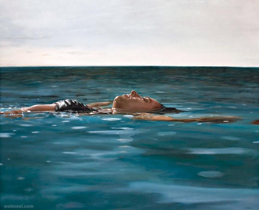 underwater paintings