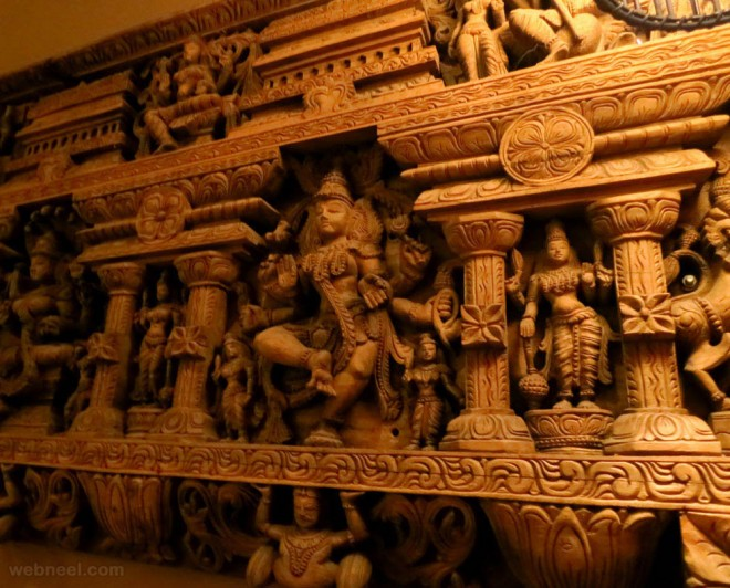 wood carving india