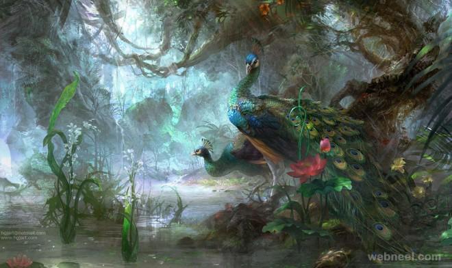 fantasy art by guangjian