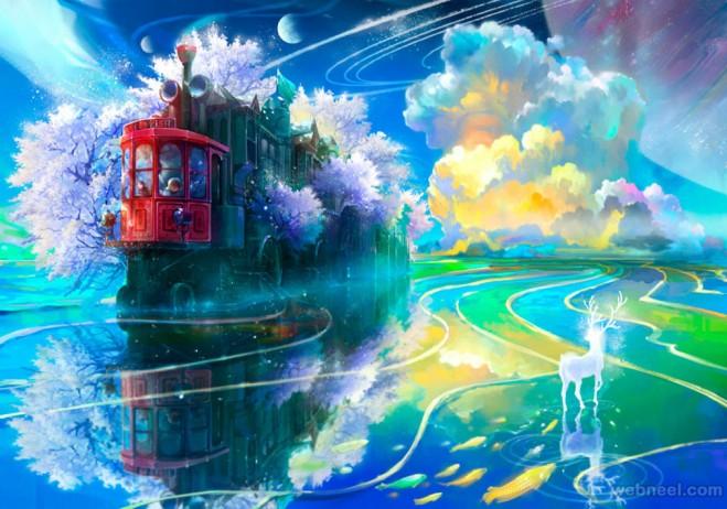 fantasy art by benjamin