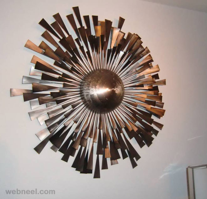 modern wall sculptures