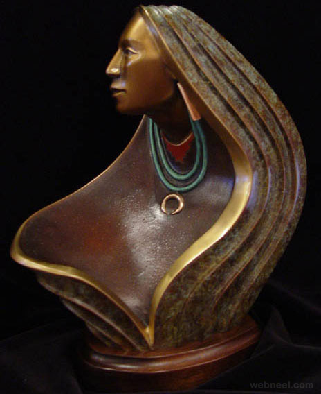 bronze sculpture modern