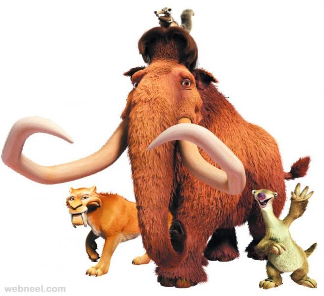 3d animals elephant