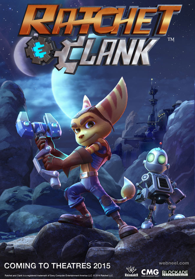 ratchet clank animation movie