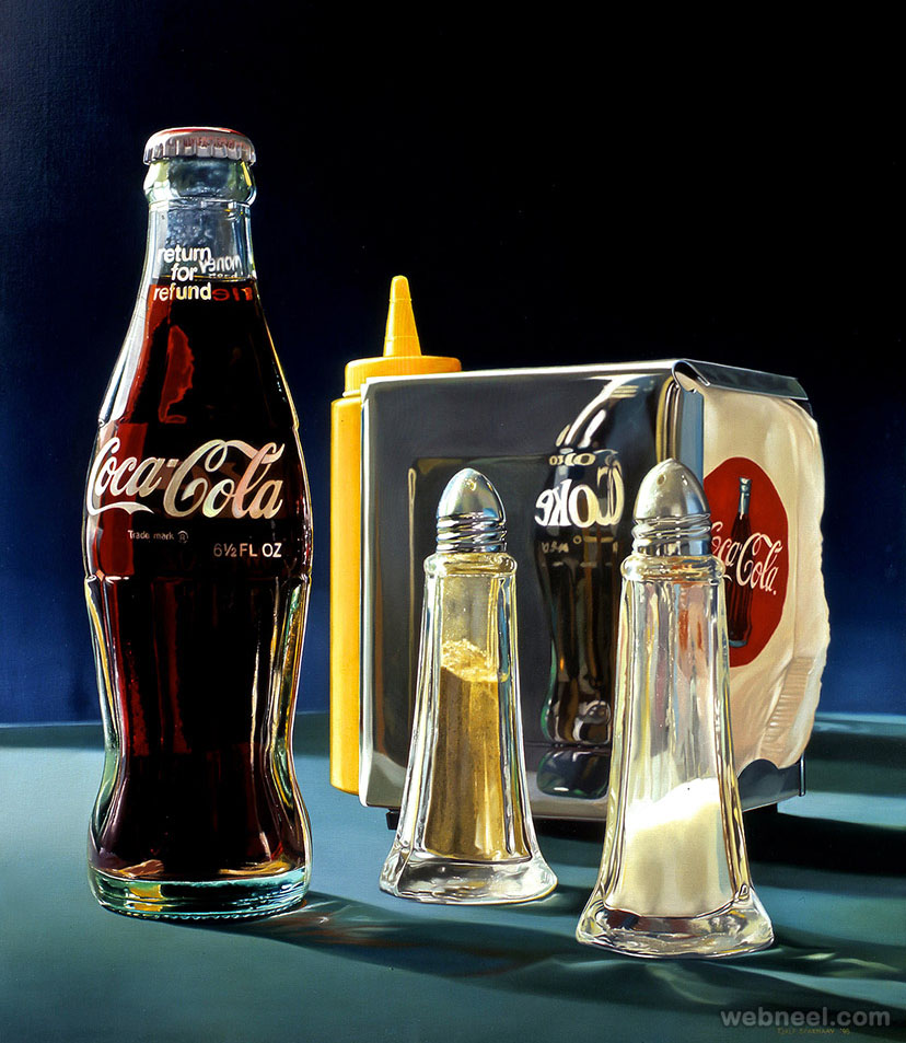 realistic oil paintings by tjalf sparnaay