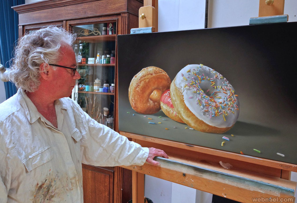 realistic oil paintings