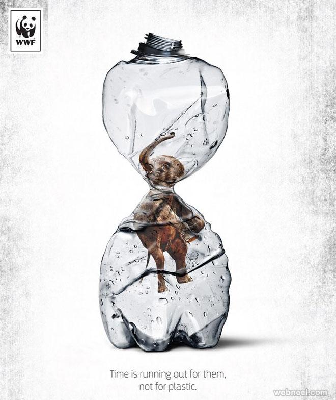 save animals creative advertising idea deforestation