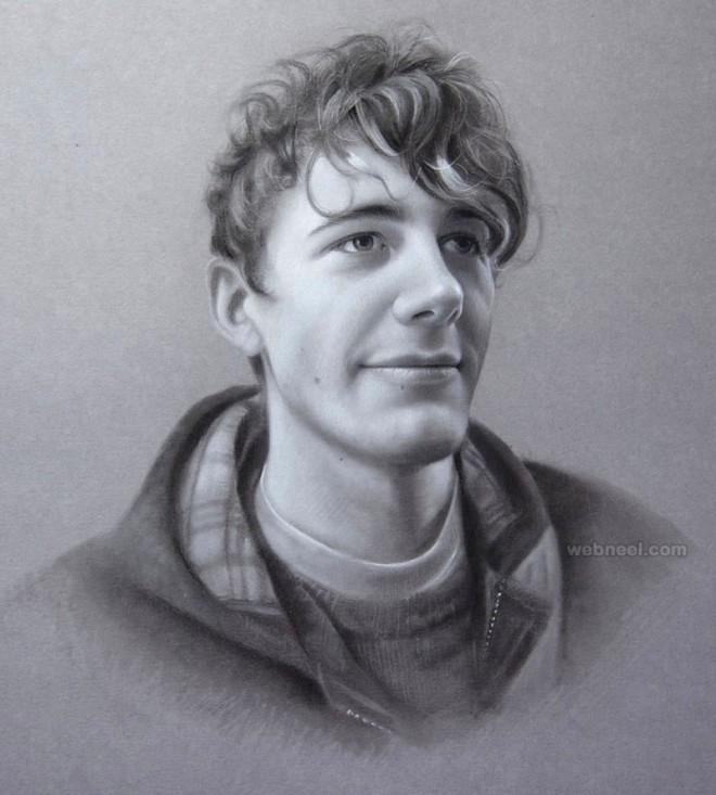 portrait drawing by maryjane